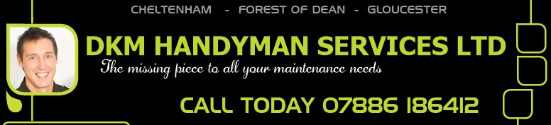 DKM HANDYMAN SERVICES LTD - The missing piece to all your maintenance needs